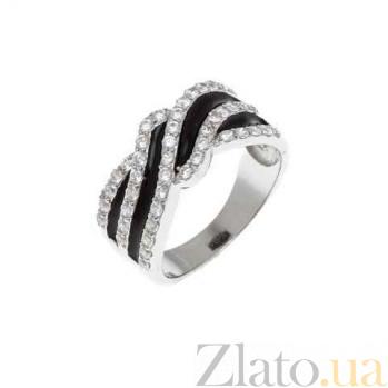Кольцо с эмалью и фианитами AQA--SJT-863-LS-R_akv