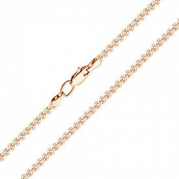Ланцюжок з червоного золота в плетінні нонна 000123275