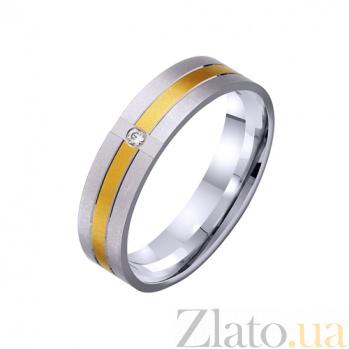 Золотое обручальное кольцо Дорогою любви TRF--422328