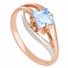 Золотое кольцо с топазом Жанна