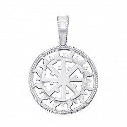 Серебряная подвеска-оберег Свитовит 000133849