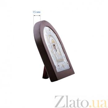 Серебряная икона с позолотой Николай Чудотворец AQA--MA/E3108AX