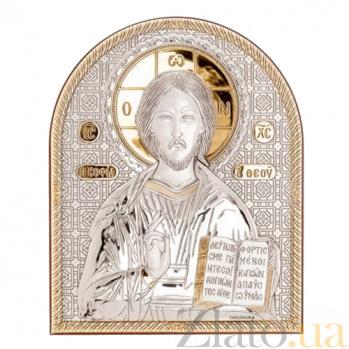 Икона Иисуса Христоса серебро с позолотой AQA--01152222