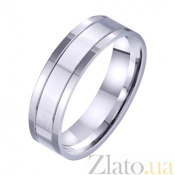 Золотое обручальное кольцо Пристань любви TRF--4211728