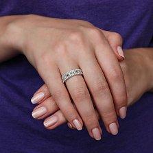 Золотое кольцо Жоржетта с бриллиантами