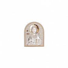 Иисус Христос икона позолоченная