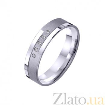 Золотое обручальное кольцо Светоч любви TRF--422238