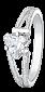 Кольцо из серебра с цирконием Шанти 000025707