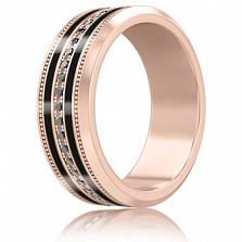 Мужское золотое обручальное кольцо Тайна: Вдохновение