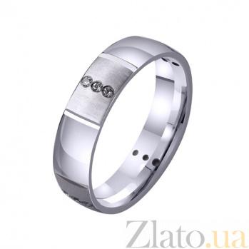Золотое обручальное кольцо Princess TRF--4221031