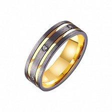 Золотое обручальное кольцо Даме сердца