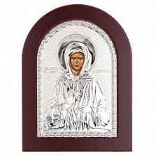 Икона Матроны Московской серебро
