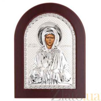 Икона Матроны Московской серебро AQA--MA/E1112B