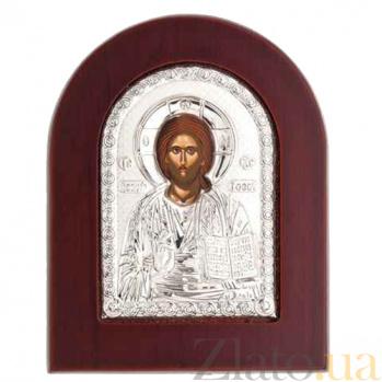 Икона Иисус Христос серебряная AQA--MA/E1107E
