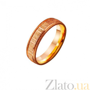 Золотое обручальное кольцо Любовь и верность TRF--4111181