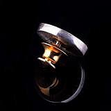 Значок Наш флаг из золота и серебра с эмалью и фианитами
