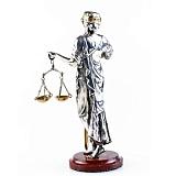 Серебряная статуэтка Фемида