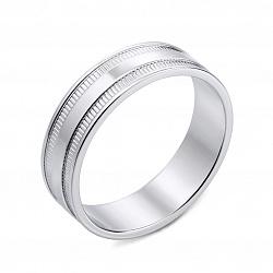 Обручальное кольцо из белого золота 000136062