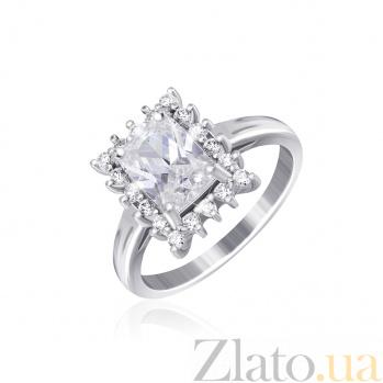 Серебряное кольцо с фианитами Глэдис 000025528
