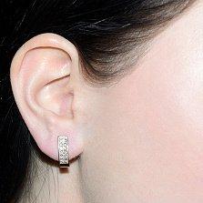 Серьги с бриллиантами Фрейя