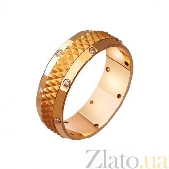 Золотое обручальное кольцо Моя княгиня TRF--4121042