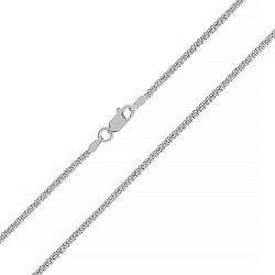 Серебряная цепочка с родием, 1 мм 000025920