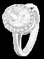 Серебряное кольцо с фианитами Лорен 000025506