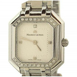 Часы Maurice Lacroix с белыми бриллиантами коллекции Les Classiques