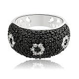 Серебряное кольцо с цирконием Анабель