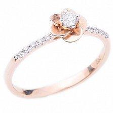 Золотое кольцо с бриллиантами Рассвет любви