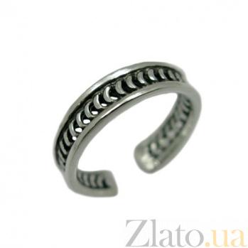 Серебряное кольцо на фалангу пальца Эхо 01184