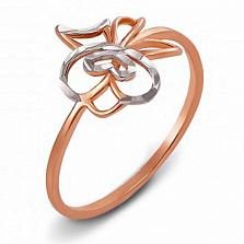Кольцо из красного золота Дженифер