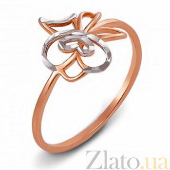 Кольцо из красного золота Дженифер 12433 с