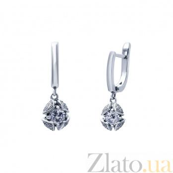 Серебряные серьги Бутон AQA--SK-SA015E_akv