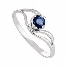 Золотое кольцо Милена с сапфиром