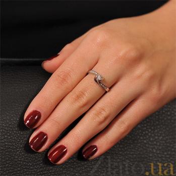 Золотое кольцо с бриллиантами Аркадия EDM--КД7479/1ПР