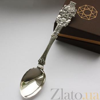 Серебряная чайная ложка Король 000027367