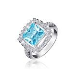 Серебряное кольцо Николь с фианитами