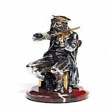 Серебряная статуэтка Старый скрипач
