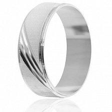 Серебряное кольцо Wedding