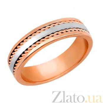 Золотое обручальное кольцо Дорога жизни VLT--н1400