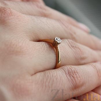 Кольцо из красного золота с бриллиантами Афродита VLA--15590