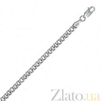 Серебряная цепочка Арес, 50 см 000027589
