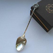 Чайная серебряная ложечка Душевный разговор