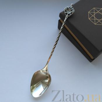 Чайная серебряная ложечка Душевный разговор 000006870