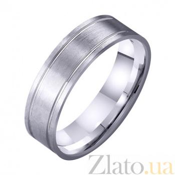 Золотое обручальное кольцо Бесконечность любви TRF--4211719