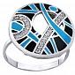 Серебряное кольцо с фианитами Клер AUR--71756б-чг
