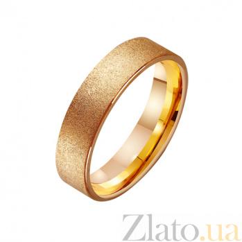 Золотое обручальное кольцо Княжество TRF--411460