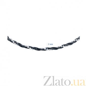 Серебряный декоративный браслет Делорис AQA--099Г/2