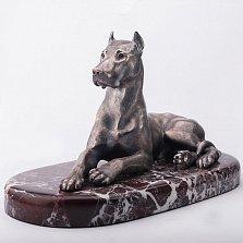 Серебряная статуэтка ручной работы Немецкий дог